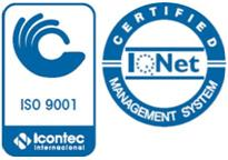 Icontec, ISO 9001:2000 Quality Controlled Operations Certified